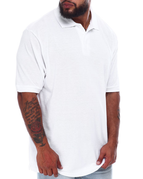 Buyers Picks - Basic Solid Pique S/S Polo (B&T)