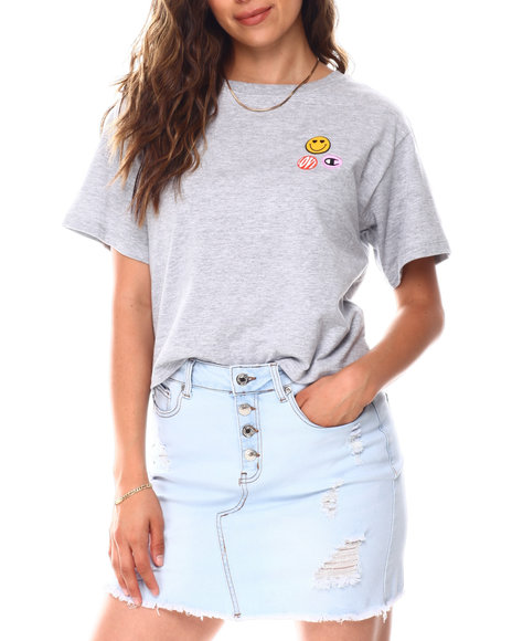 Champion - The Cropped Graphic Tee