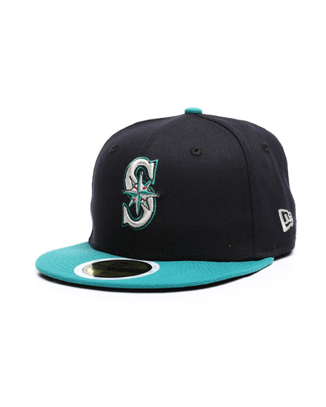 New Era - Seattle Mariners Authentic Collection Perf 59FIFTY Fitted (Youth)