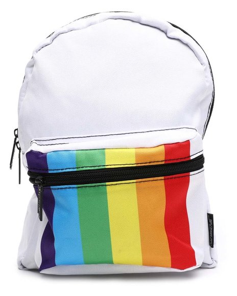 FYDELITY - Mini Backpack: Rainbow Stripe (Unisex)