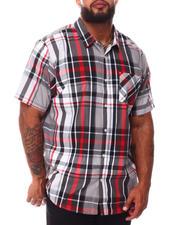 Button-downs - Always Open Plaid Woven Shirt (B&T)-2665320