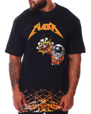 Hard Turn - NASA Splatter T-Shirt (B&T)-2665427