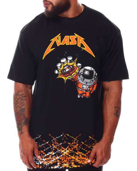 Hard Turn - NASA Splatter T-Shirt (B&T)