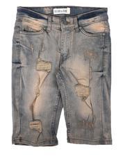 Shorts - Rip & Repair Denim Shorts (8-18)-2663714