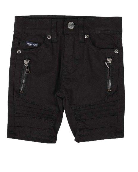 Phat Farm - Stretch Brushed Twill Moto Shorts (2T-4T)