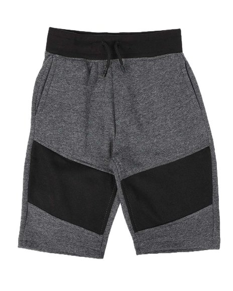 Arcade Styles - Color Block Knit Shorts (8-18)