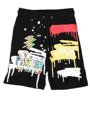 Shorts - Doodle Parish Print Shorts (4-7)-2664469