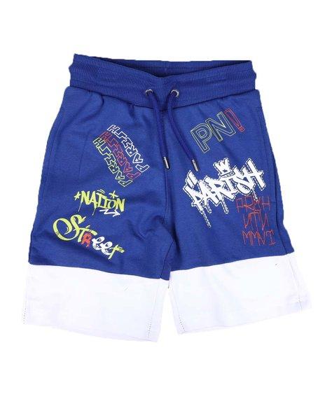 Parish - Two Tone Print Knit Shorts (4-7)