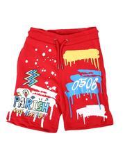 Shorts - Doodle Parish Print Shorts (4-7)-2664578