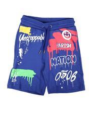 Shorts - Drip Print Shorts (2T-4T)-2664498