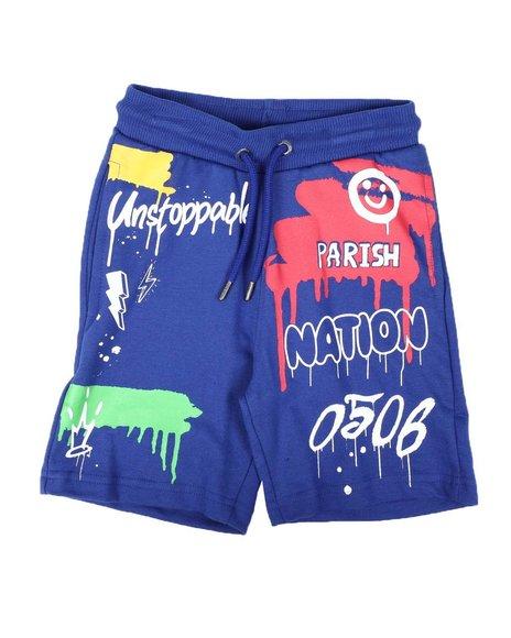 Parish - Drip Print Shorts (2T-4T)