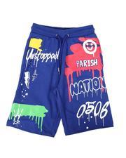 Shorts - Drip Print Shorts (8-20)-2664506