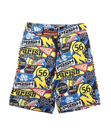 Parish - All Over Patch Print Shorts (4-7)