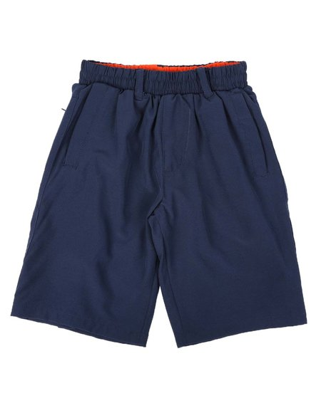 NOTHIN' BUT NET - Stretch Shorts With Built In Boxer Briefs (8-20)