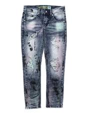 Jeans - Multi Tie Ripped Jeans (8-16)-2664721