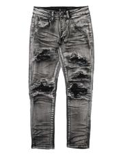Jeans - Distressed Stretch Jeans (8-20)-2664784