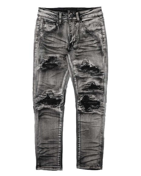Arcade Styles - Distressed Stretch Jeans (8-20)