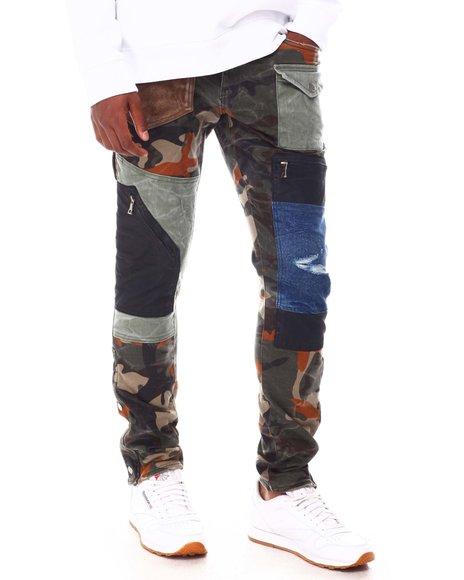 Jordan Craig - Camo Color block Cargo Pant