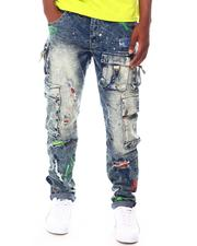 Reason - Radical Denim Cargo Jeans-2665729