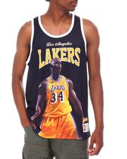 NBA, MLB, NFL Gear - LOS ANGELES LAKERS Behind the Back Tank - Shaquille O'Neal-2666393
