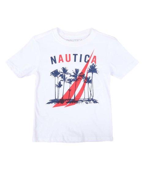 Nautica - Palm Tree Graphic T-Shirt (4-7)