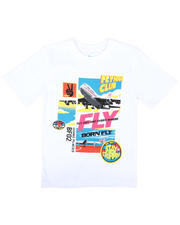 Born Fly - Fly Anywhere Graphic Tee (8-20)-2663401