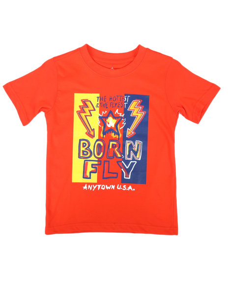 Born Fly - The Hottest & The Flyest Graphic Tee (4-7)