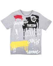 Boys - Drip Print Tee (4-7)-2664385