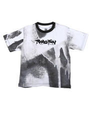 Boys - Revolution Drip Print Tee (8-20)-2664451