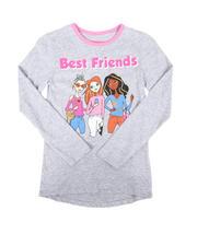 La Galleria - Best Friends Graphic Tee (7-16)-2664461