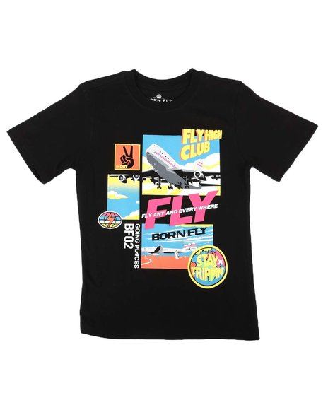 Born Fly - Fly Anywhere Graphic Tee (8-20)