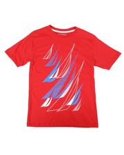 Nautica - Stacked Boats Graphic Tee (8-20)-2663770