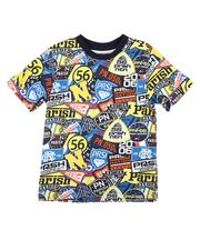 Boys - All Over Patch Print Tee (8-20)-2664343