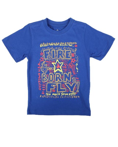 Born Fly - Fly Sauce Graphic Tee (4-7)