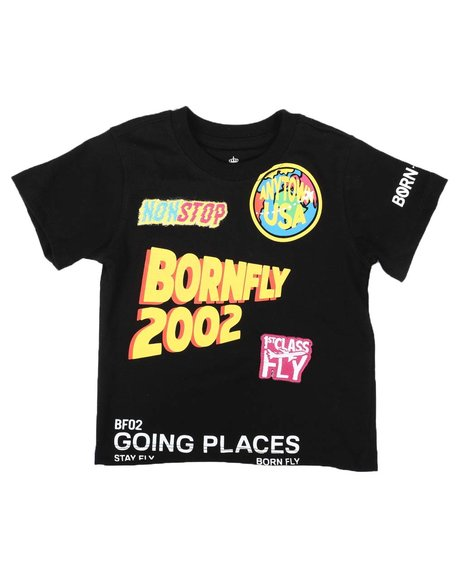 Born Fly - Going Places Graphic Tee (2T-4T)