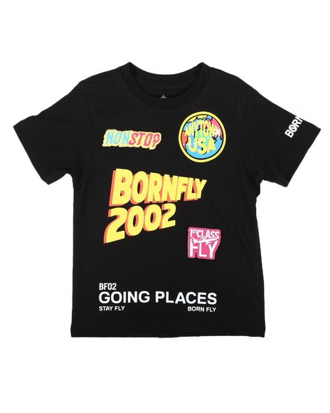 Born Fly - Going Places Graphic Tee (4-7)