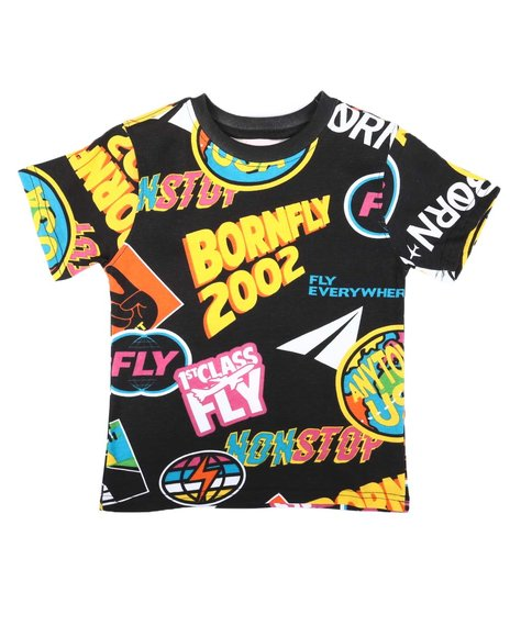 Born Fly - All Over Graphic Tee (4-7)