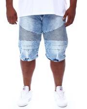 Buyers Picks - Moto Knee Rip & Tear Denim Shorts (B&T)-2667546