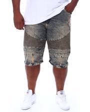 Buyers Picks - Moto Knee Rip & Tear Denim Shorts (B&T)-2667560