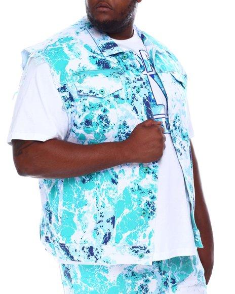 Born Fly - Baller Boy Summer Denim Vest (B&T)