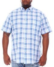 Nautica - Plaid Linen Woven Shirt (B&T)-2660311