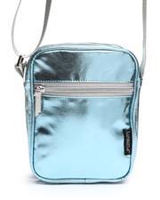 Crossbody - Metallic Blue Sidekick Brick Crossbody Bag (Unisex)-2663283