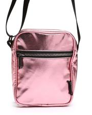 Crossbody - Metallic Pink Sidekick Brick Crossbody Bag (Unisex)-2663284