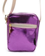 Crossbody - Metallic Purple Sidekick Brick Crossbody Bag (Unisex)-2663285