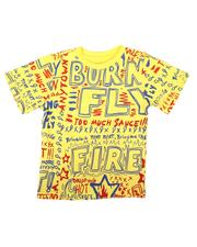Born Fly - All Over Verbiage Tee (4-7)-2663451