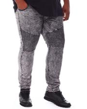 Jeans & Pants - Moto Knee Denim Jeans (B&T)-2664219