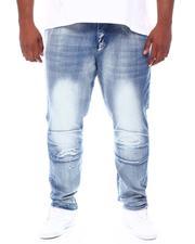 Buyers Picks - Cut & Sew Panel Denim Jeans (B&T)-2664249