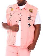 Born Fly - Peace & Love Denim Vest (B&T)-2665830