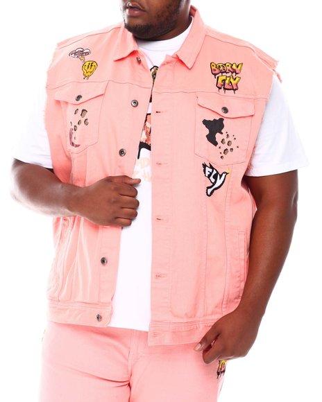 Born Fly - Peace & Love Denim Vest (B&T)