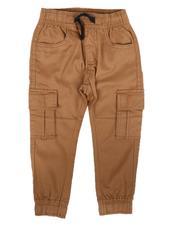 Phat Farm - Stretch Cargo Twill Jogger Pants (2T-4T)-2665920